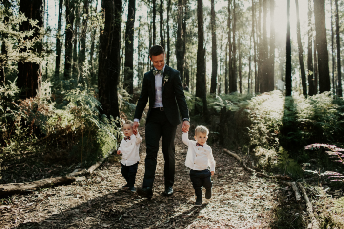 Groom With Child's